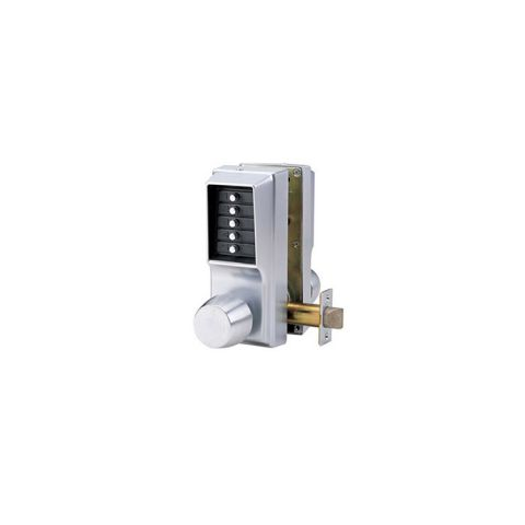 KABA Simplex 1000 Series Double Sided Mechanical Pushbutton Lockset w/Round Knob