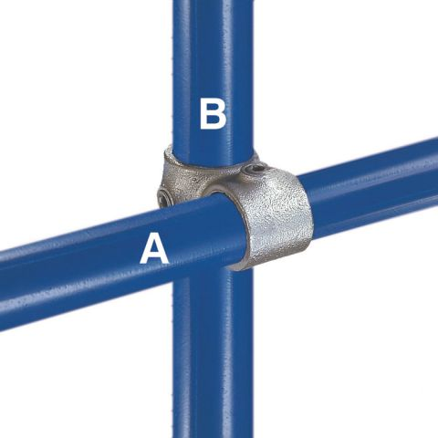 Kee Klamp Type 45 Steel Pipe Fittings - Crossovers