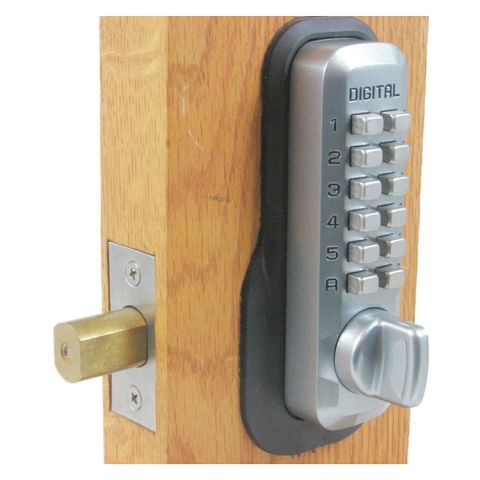 Lockey USA Keyless Deadbolt Lock M210 With EZ Plates