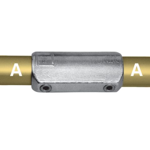 Kee Lite Type L14 Aluminum Pipe Fittings - Straight Couplings