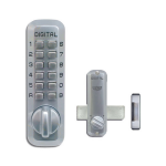 Lockey USA Keyless Surface Mount Deadbolt Lock M220 (LUS-M220)