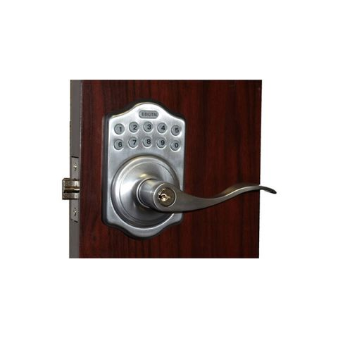 Lockey USA Electronic Keyless Spring Latch Lock (Remote Ready) E-985R