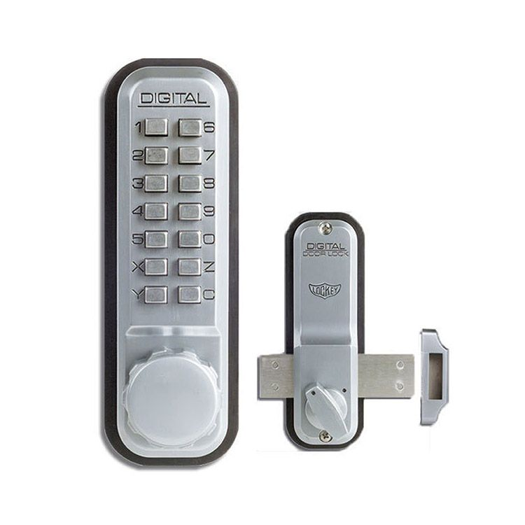Lockey USA Keyless Rim Surface Mount Bolt Lock 2200