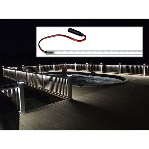 LMT Low Voltage LED Under Rail Strip Light w/o Channel