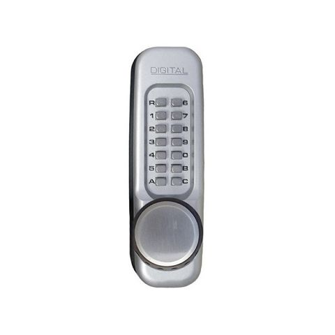 Lockey USA Heavy Duty Knob Keypad Trim 160-P for Panic Exit Bar
