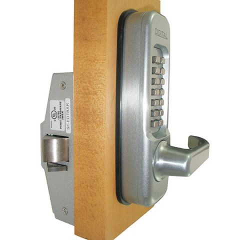 Lockey USA Heavy Duty Lever Keypad Trim 115-P for Panic Exit Bar