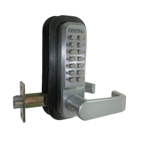 Lockey USA Keyless Deadlocking Spring Latch Lever Lock 2835