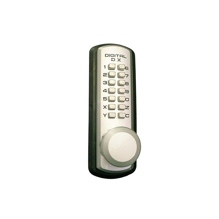 Lockey USA Medium Duty Knob Keypad Trim 310-P for Panic Exit Bar - Marine Grade