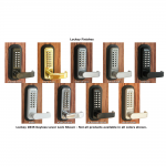 Lockey USA Medium Duty Keypad Trim 285-P for Panic Exit Bar (LUS-285P-P)