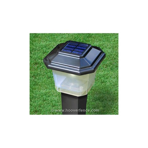 "LMT Solar Ornamental Lantern - Fits 2-1/2"" Post"
