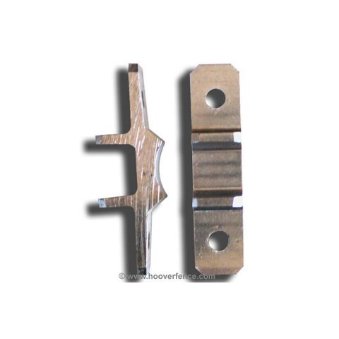 Nationwide Industries Post Mount Bracket Set for Vinyl Posts