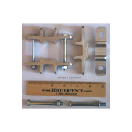 Nationwide Industries Post Mount Bracket Set for Vinyl Posts (NW6011-P)