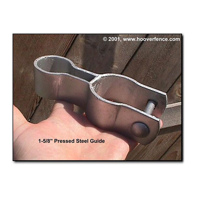 Chain Link Fence Gate Drop Rod Guides - Commercial/Industrial Grade