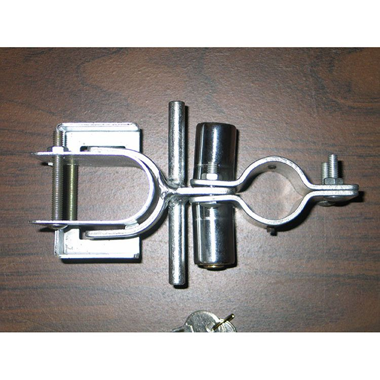 Quick Lock Chain Link Fence Double Drive Gate Latch 1 3 8