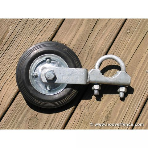 "Swing Gate Wheel for Pipe - Fits 1-5/8"" & 2"" O.D."