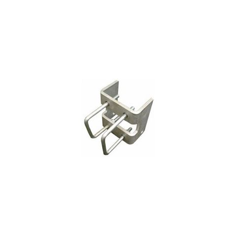 "4"" Square Hanger Bracket for Slide Gate Trolley"