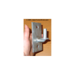 Residential Wall Mount Chain Link Fence Gate Male Hinge (H-0218) (CL-MP)