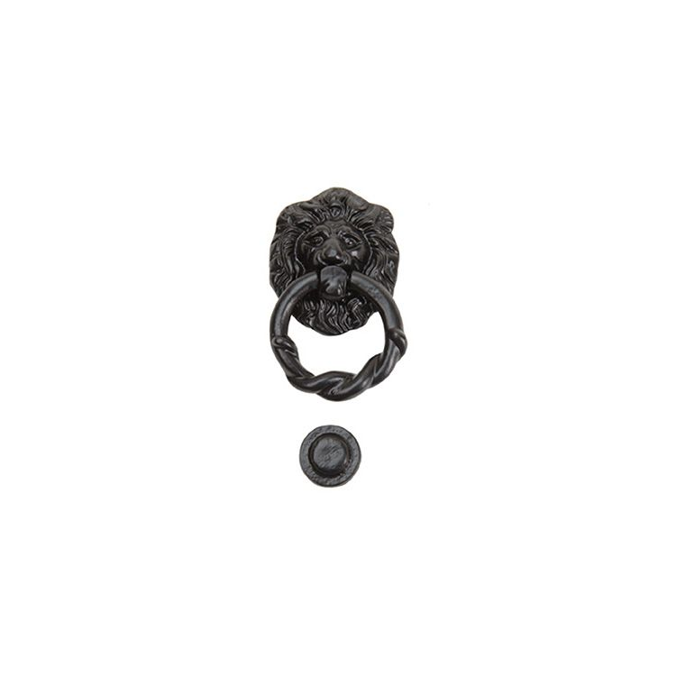 Carriage House Knocker Kit, Lion Head Style