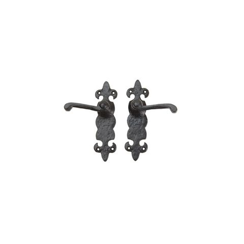 Carriage House Door Handle Set, LIS Style