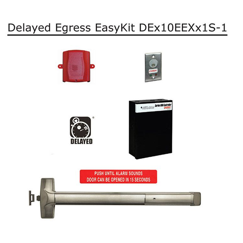 [SCHEMATICS_4JK]  Detex Delayed Egress EasyKit for Doors | Hoover Fence Co. | Detex Wiring Diagrams |  | Hoover Fence Co.