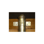 OZCO Building Products Oz-Post IS-FBS Standard Series Wood to Steel Fence Brackets (OZ-ADAPTOR-STANDARD)