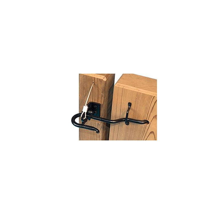 Cape Cod Latch with Heavy Duty Lockable Post Catch