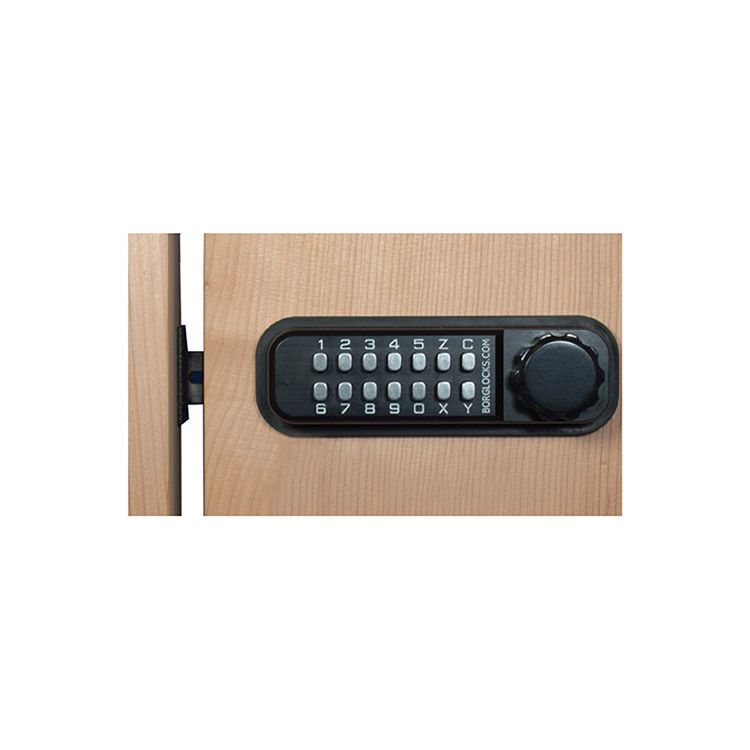 Borglocks Horizontal Keypad Lateral Action Combination Dead Bolts