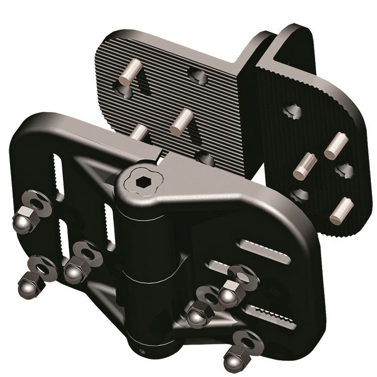 Nationwide Industries Cornerstone Fully Adjustable Self-Closing Nylon Hinges for Vinyl Gates