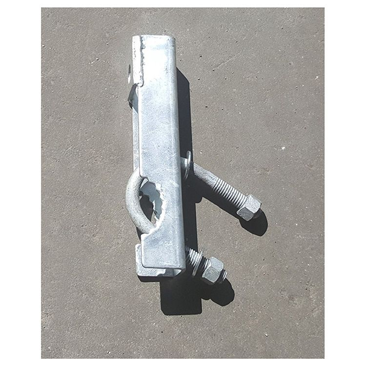 Extended Bracket for Chain Link Fence Rolling Gate Rear Wheels (H-0897)