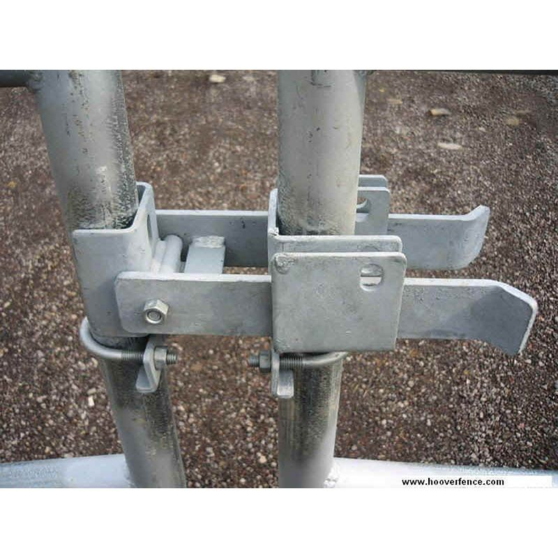 Fulcrum Style Chain Link Fence Double Gate Latch Fits 1