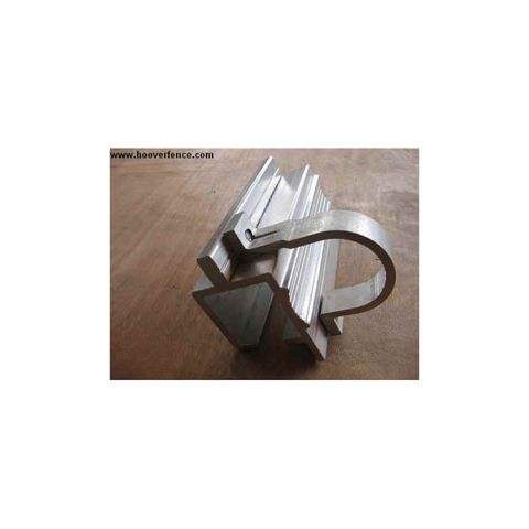 Aluminum Bolt-On Slide Gate Track for Round Gate Frames