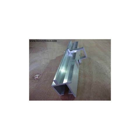 Aluminum Bolt-On Slide Gate Track for Square Gate Frames