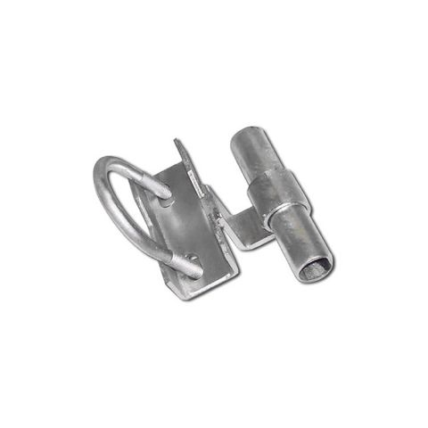 Chain Link Universal Track Brackets for Rolling Gates