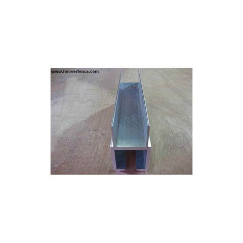 Aluminum Bottom Track for Square Slide Gate Frames