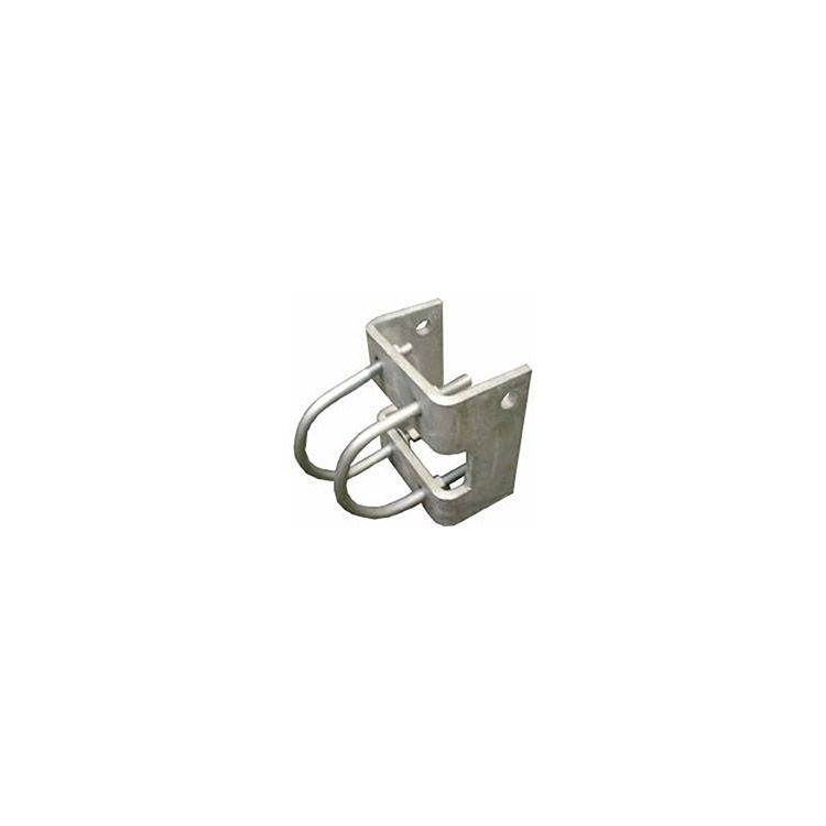 Chain Link Trolley Hanger Brackets - Round Post