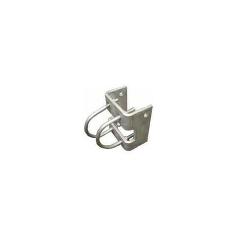 Chain Link Fence Trolley Hanger Brackets - Round Post