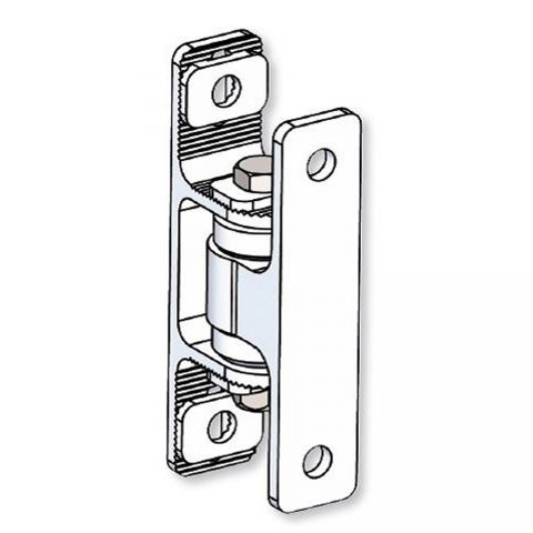 Nationwide Industries Heavy Duty Ball Bearing Hinge - Aluminum Bolt-On Mill Body & Aluminum Bolt-On Mill Yoke