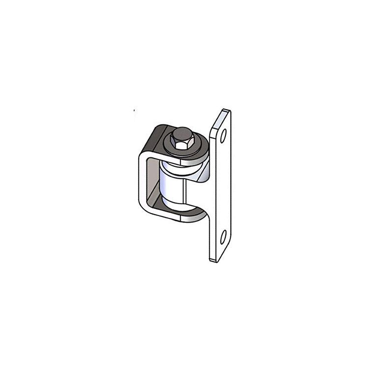 Nationwide Industries HD Bearing Hinge - Body Alum., Bolt-on, Mill - Yoke Steel Weld-on, Mill - Each