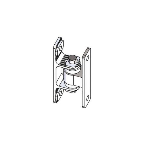 Nationwide Industries HD Bearing Hinge - Body Steel Bolt-on, Mill - Yoke Alumimun Bolt-on, Mill - Each