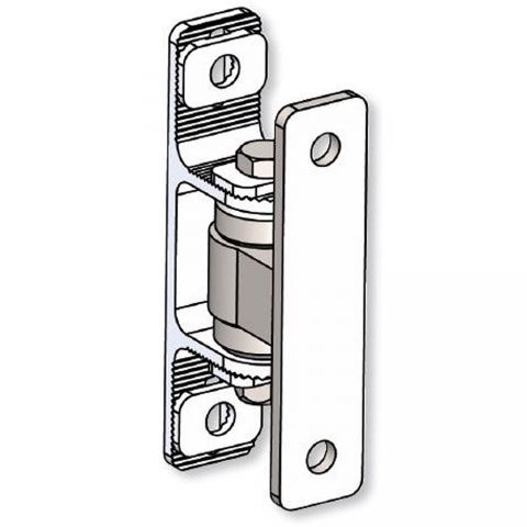 Nationwide Industries Heavy Duty Ball Bearing Hinge - Steel Bolt-On Mill Body & Aluminum Bolt-On Mill Yoke