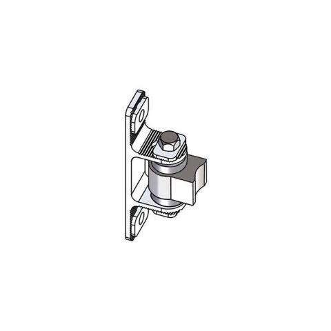 Nationwide Industries HD Bearing Hinge - Body Steel Weld-on, Mill - Yoke Alum. Bolt-on, Mill - Each
