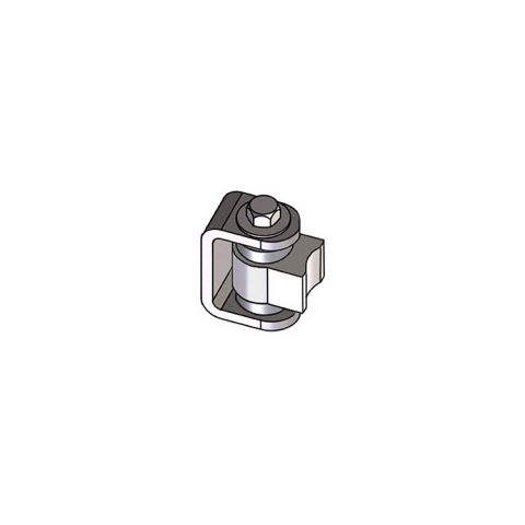 Nationwide Industries HD Bearing Hinge - Body Steel Weld-on, Mill - Yoke Steel Weld-on, Mill - Each