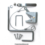 Nationwide Industries All Purpose Gate Latch Sets for Wood Gates (NW38341-P)