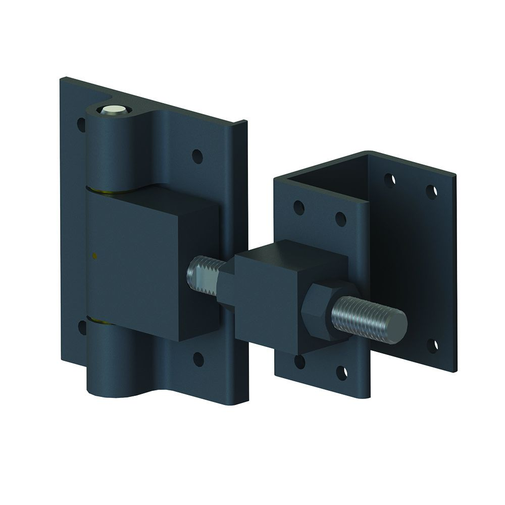 Heavy duty gate hinges roselawnlutheran for Driveway gate hardware heavy duty