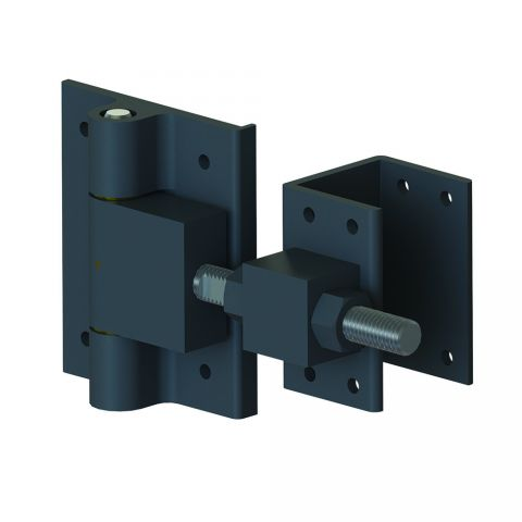 Nationwide Industries Adjustable Heavy Duty Bolt On Estate Gate Hinges