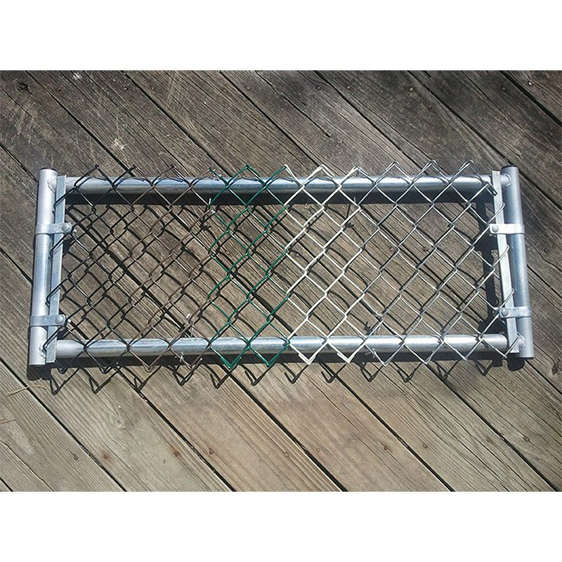Hoover Fence Chain Link Fabric Salesman Sample