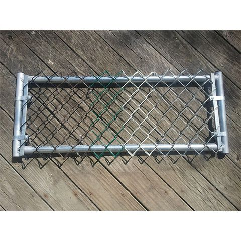Hoover Fence Chain Link Fence Fabric Salesman Sample