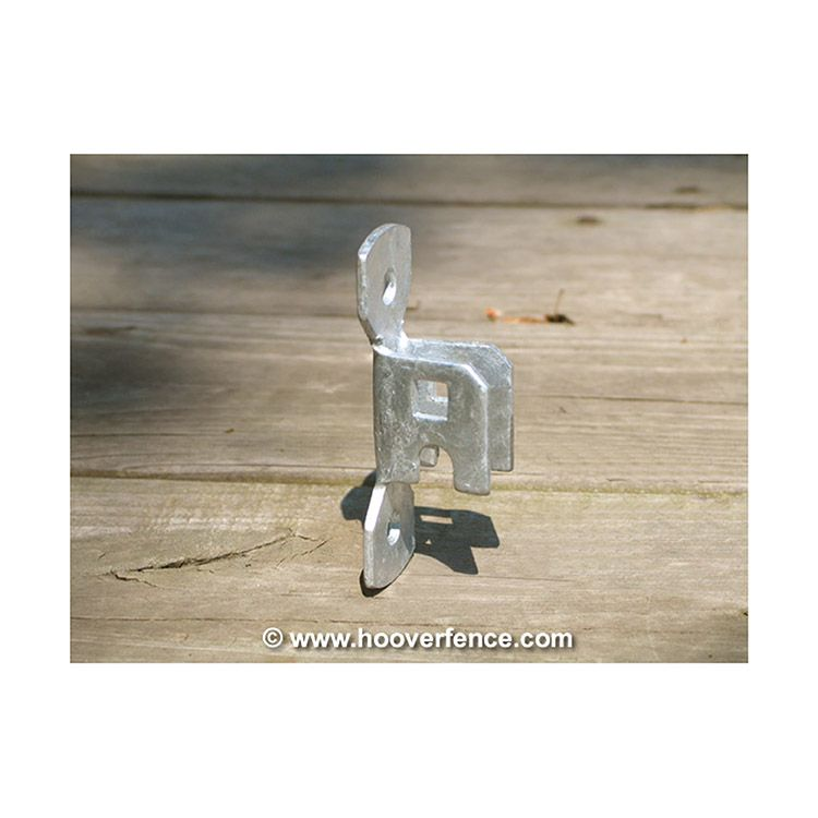 Wall Mount Plate For Residential Chain Link Fence Fork