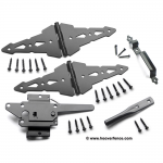Nationwide Industries Western Walk Gate Hardware Sets for Wood Gates (NW38948WQ-P)