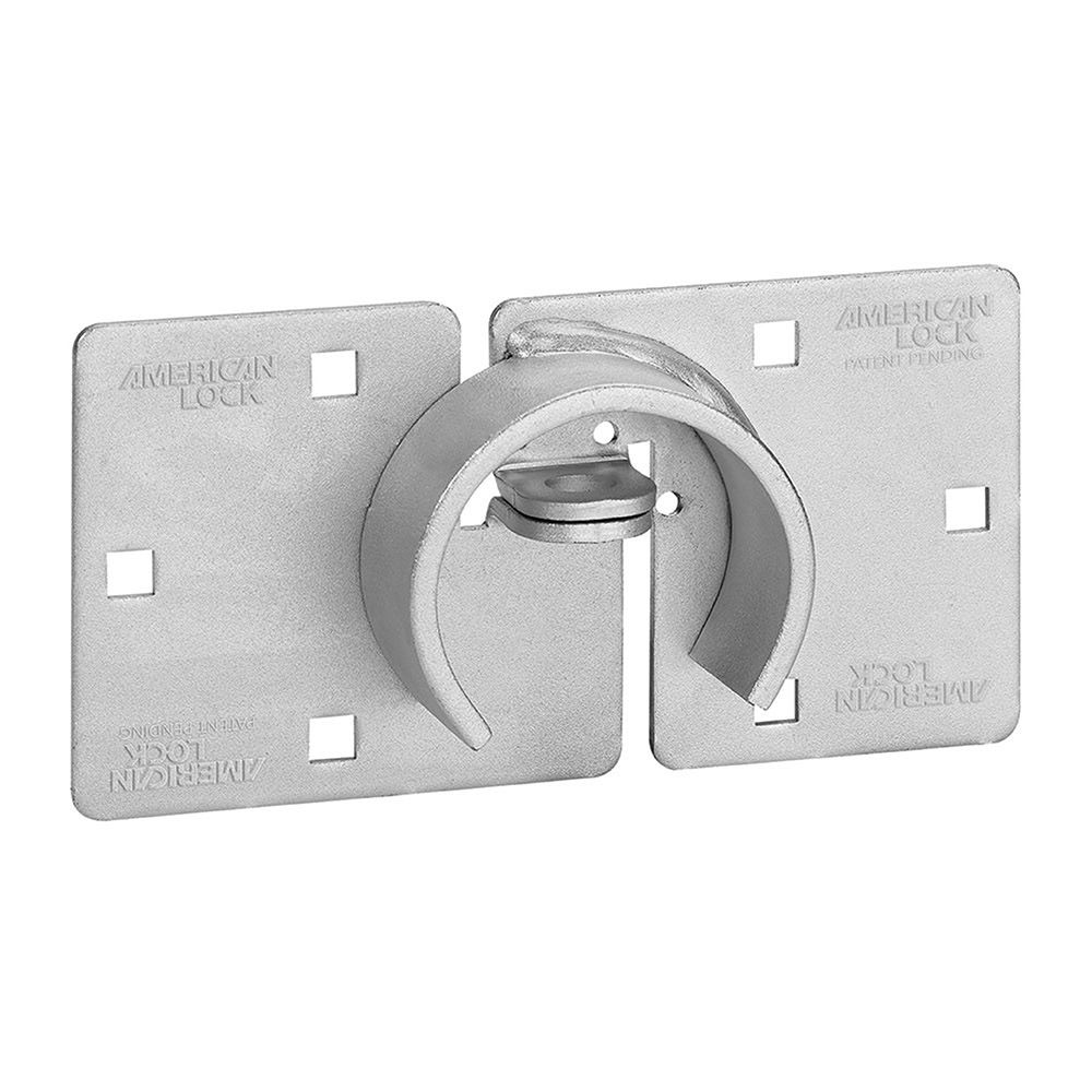 "American Lock 8-3/4"" Hidden Shackle Padlock Hasp"